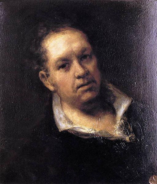 Goja, Autoportret