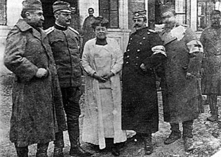 Nadežda Petrović u valjevskoj bolnici