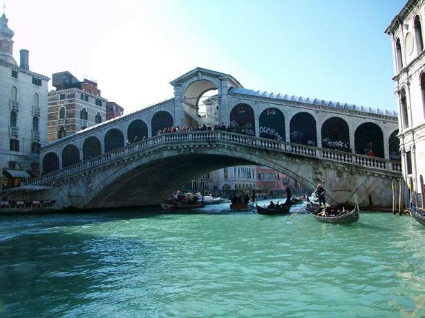 Most Rijalto, Venecija, foto Eliska Nikodemova