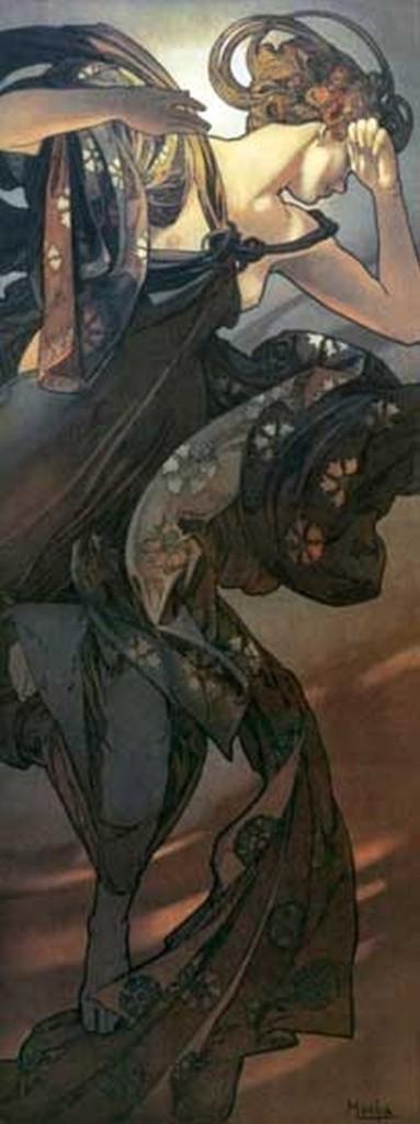 Alfons Muha, Večernja zvezda