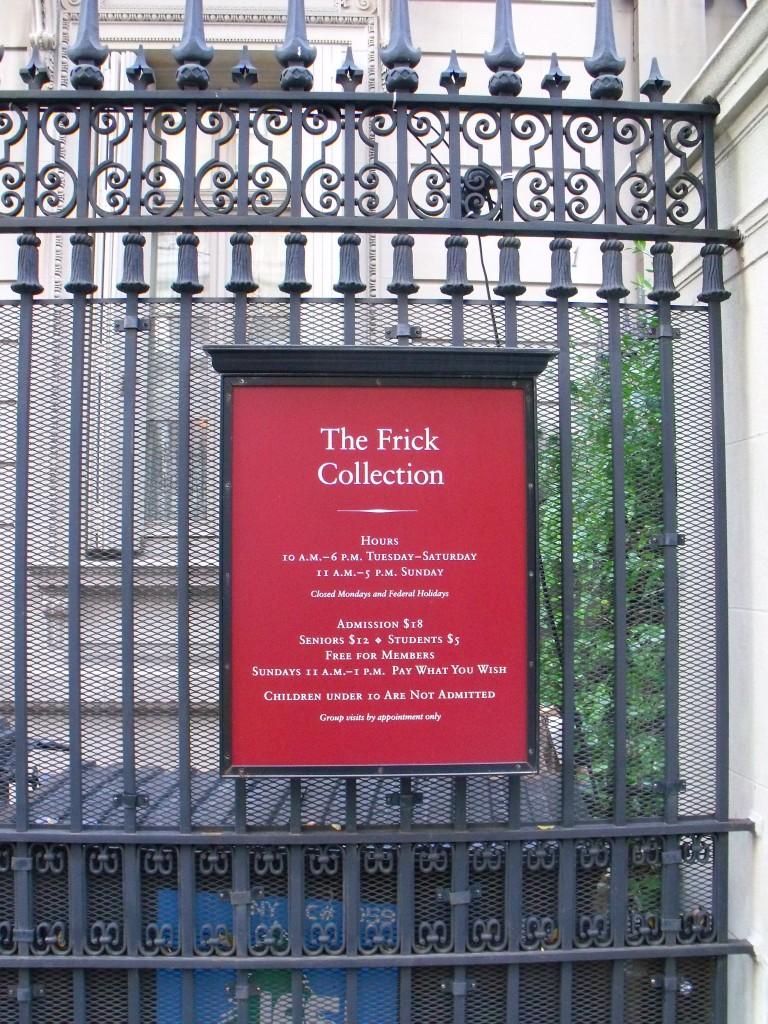 Frik kolekcija, Njujork, foto Pavle Tišma