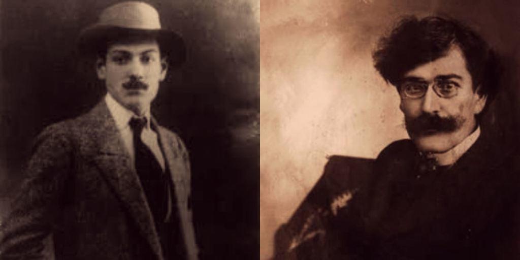 Milutin Bojić i Vladislav Petković Dis