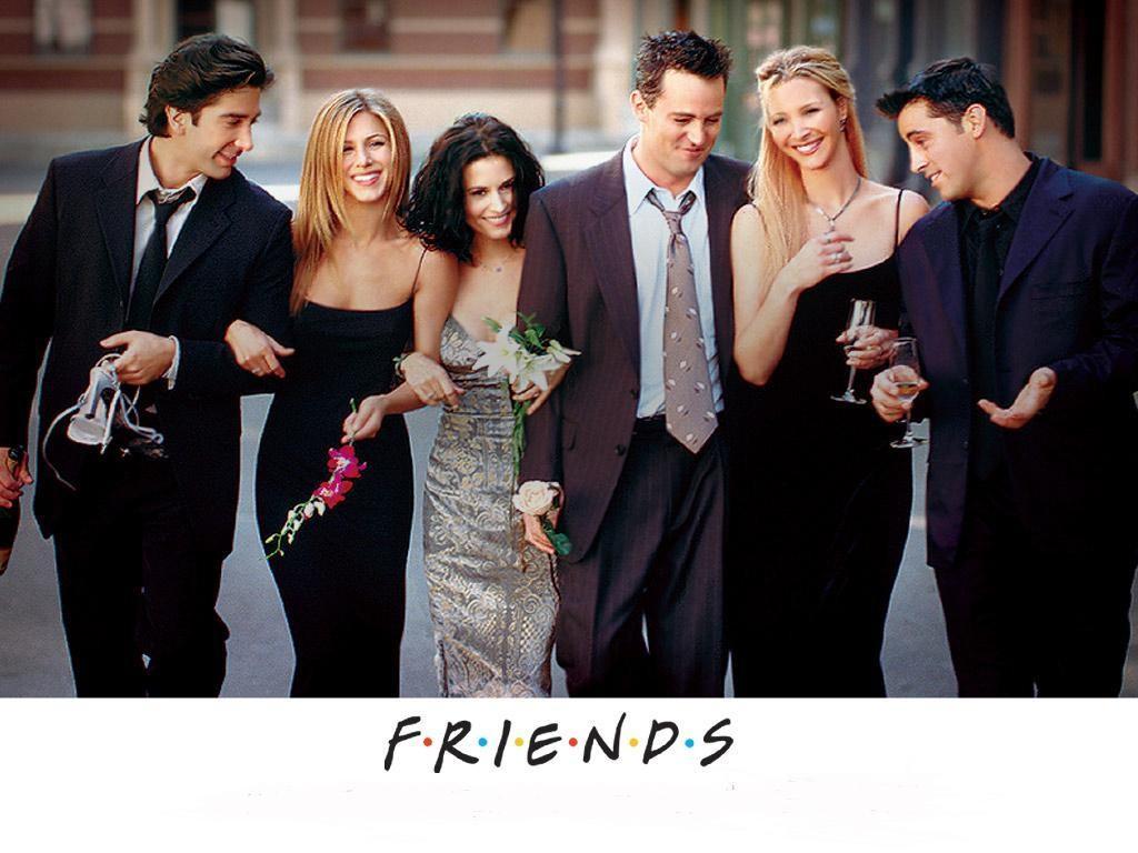 Serija Prijatelji: Ros, Rejčel, Monika, Čendler, Fibi, Džoi