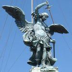 Arhangel Mihailo na dvorcu San Anđelo u Rimu (18. vek)