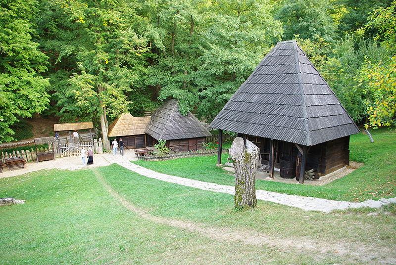 Vukova spomen-kuća u Tršiću, foto: Rasevic, via Wikipedia