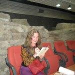 Ljubica Mrkalj na promociji knjige u Bibilioteci grada Beograda
