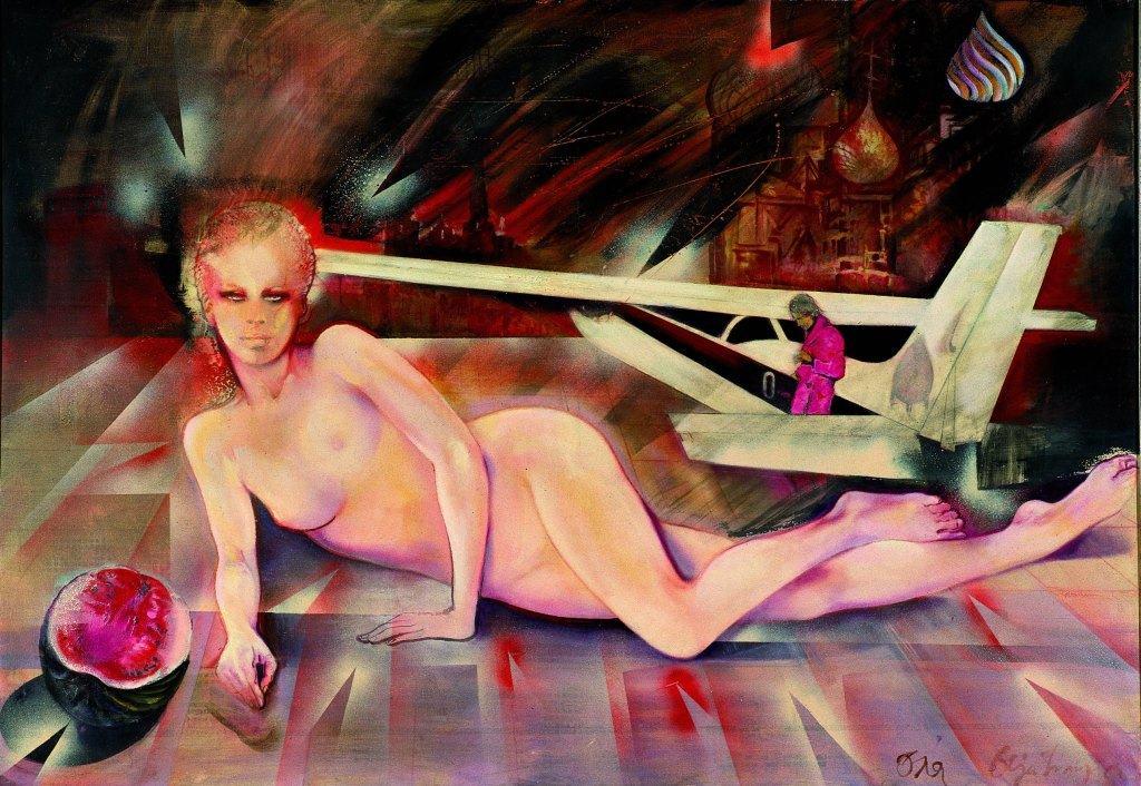 Matijas Rust, slika Olje Ivanjicki