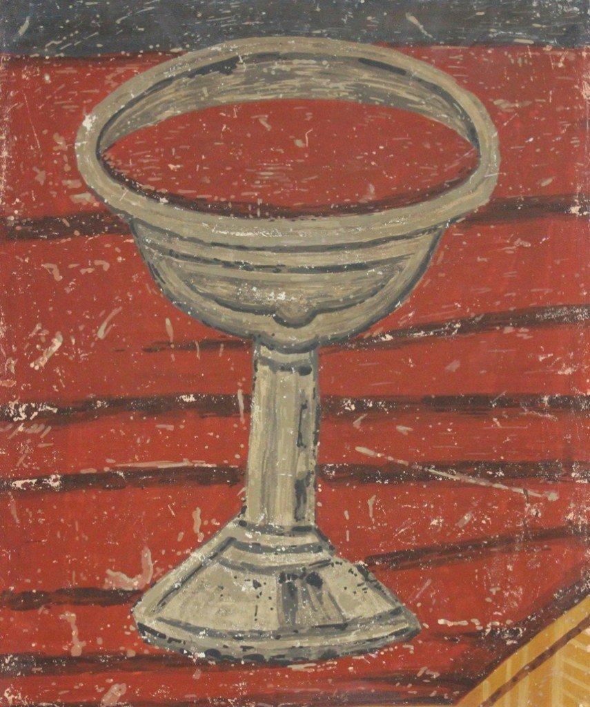 Bogorodica Ljeviška, Srednjovekovna čaša