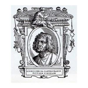 Đorđone, portret u Životima slavnih slikara, vajara i arhitekata, Đorđa Vazarija