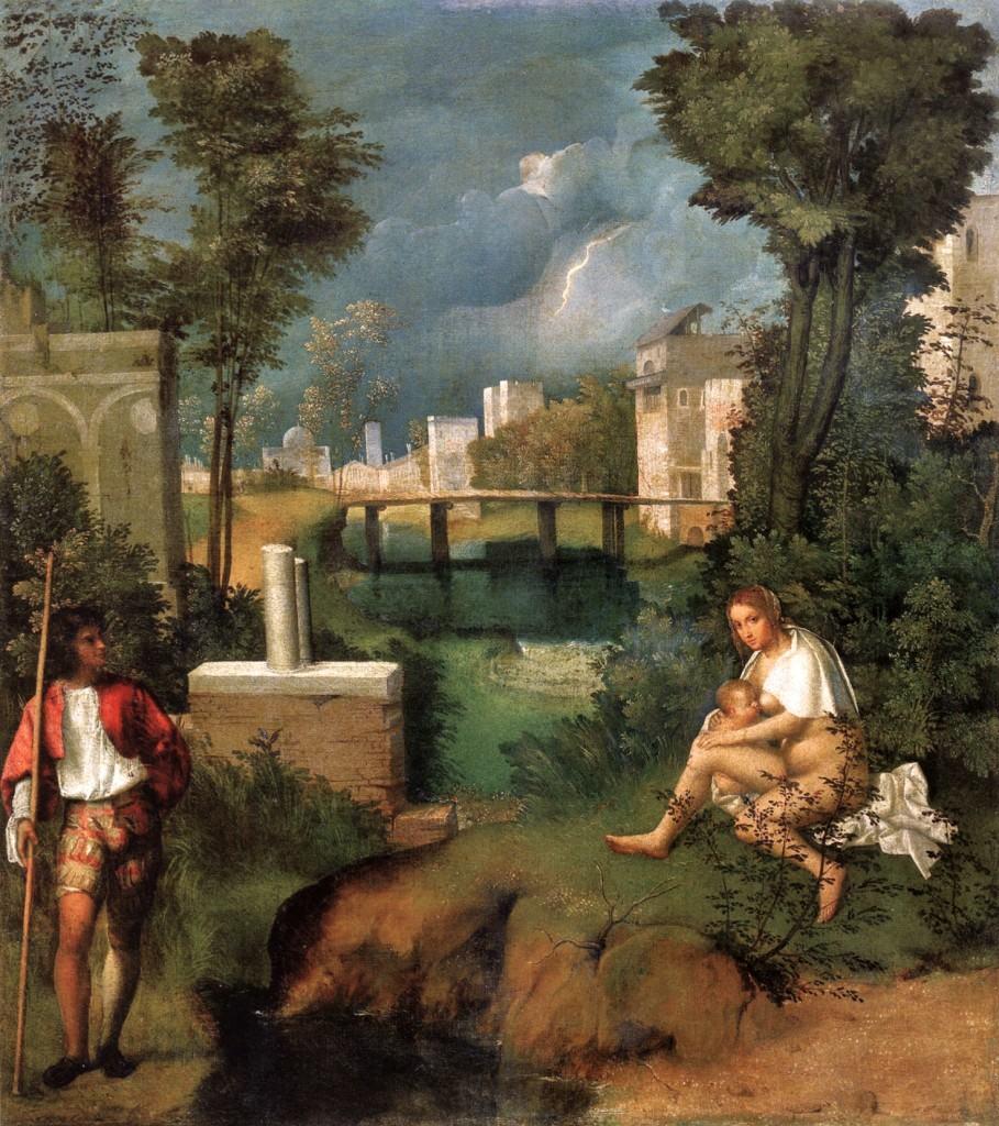 Đorđone - Oluja, 1506, Galerija Akademije, Venecija, Italija