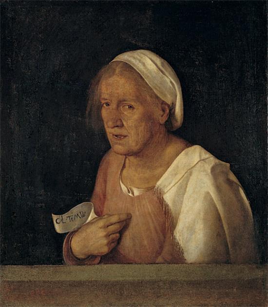 Đorđone - portret starice, 1508, Galerija Akademije, Venecija, Italija