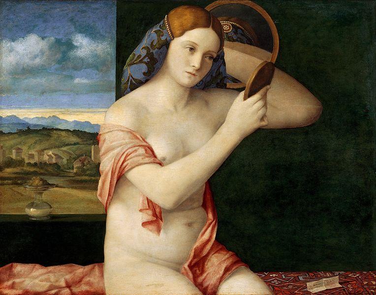 Đovani Belini - Devojka sa ogledalom, 1515. Umetničko istorijski muzej, Beč