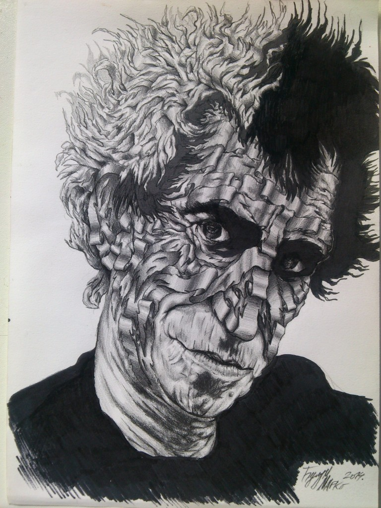 Marko Ćulum, eksponat sa izložbe Lenta