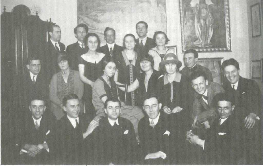Salon porodice Nastasijević u Beogradu, 1925. godine, foto: Muzej rudničko-takovskog kraja, Gornji Milanovac