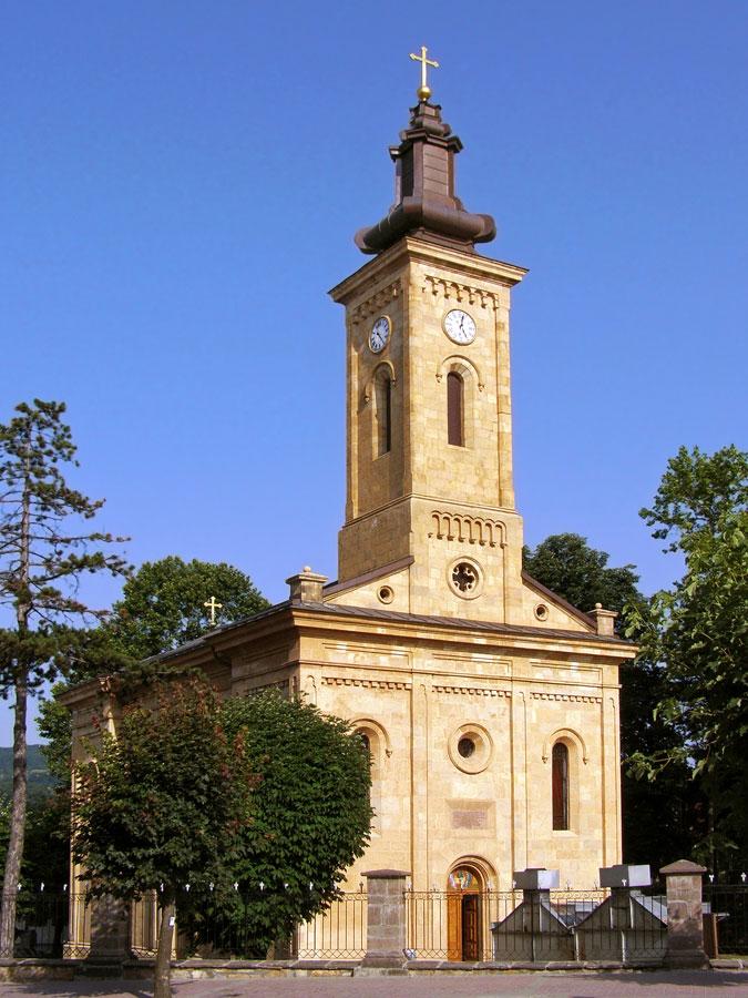 gornji milanovac, crkva, knez miloš