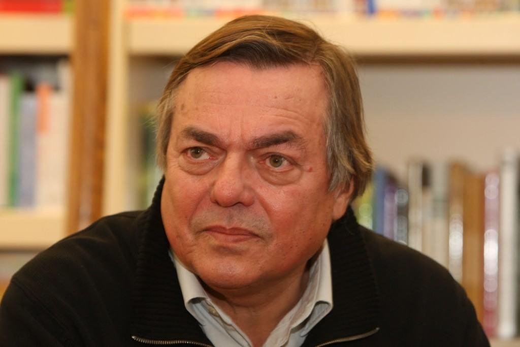 Drago Jančar, iz dokumentacije Arhipelaga