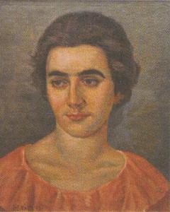POrtret sestre Slavke, Nastasijevic