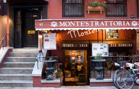 Monte's Trattoria, Njujork