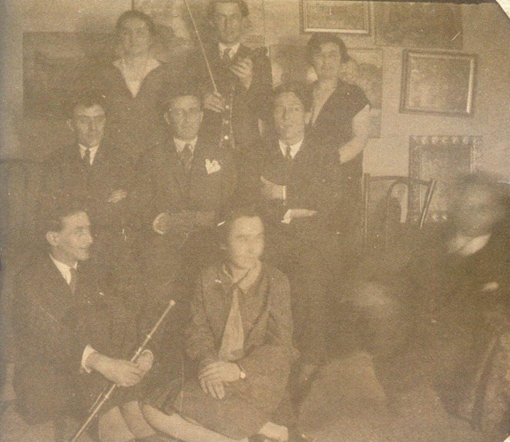 Muzičko popodne kod Nastasijevića, Beograd, 1936, foto: MRTK, Gornji Milanovac
