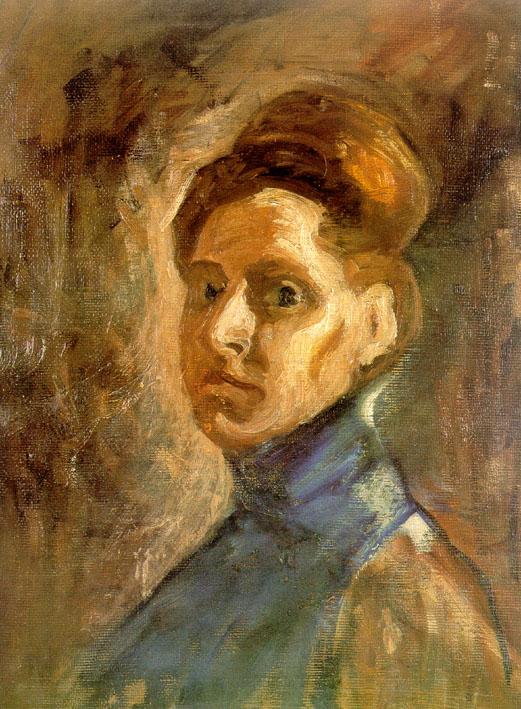 Nadežda, Autoportret, 1907