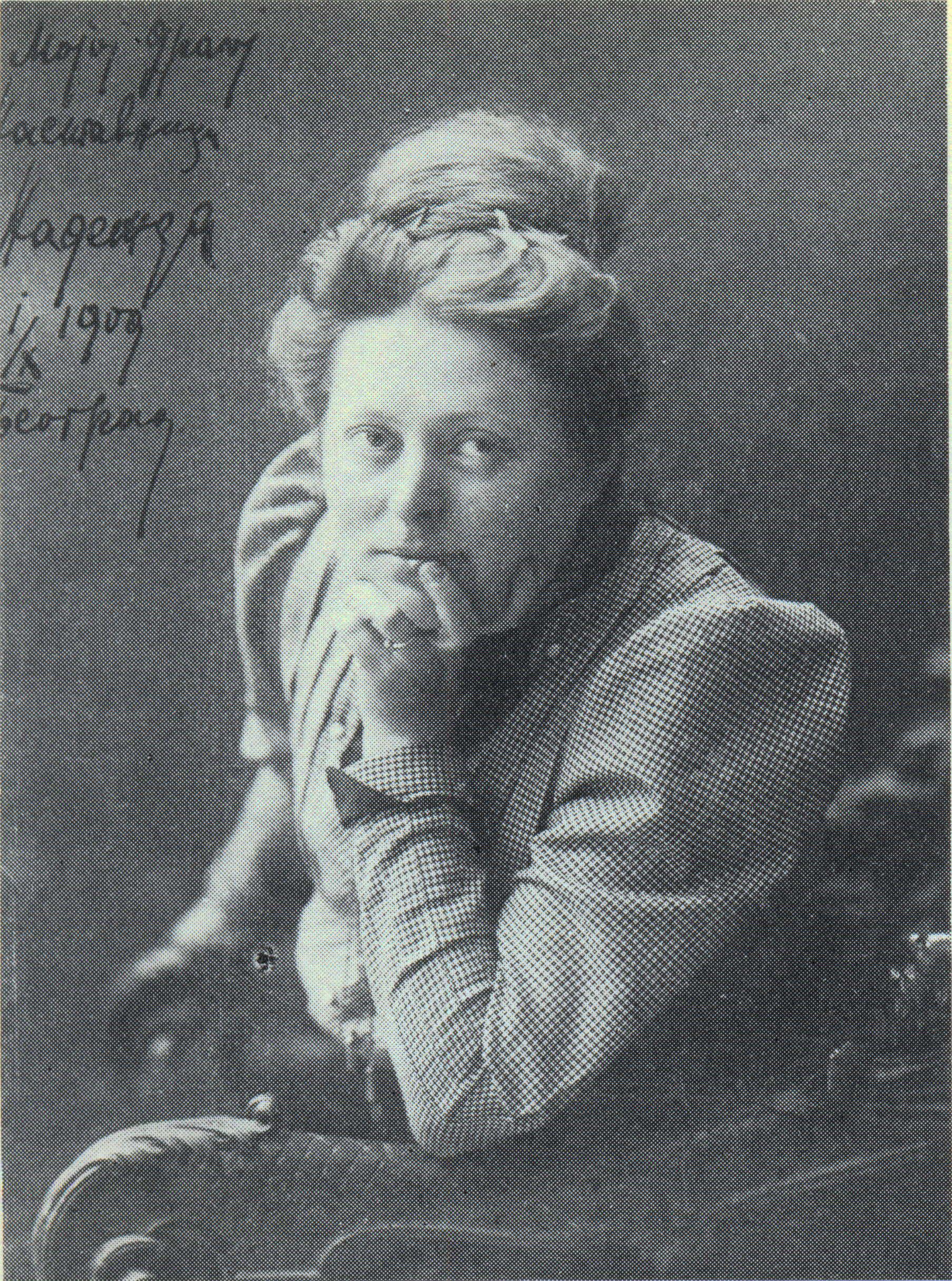 Nadežda Petrović, 1909, fotografija