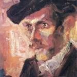 Nadežda Petrović, Portret Jovana Skerlića, 1907,