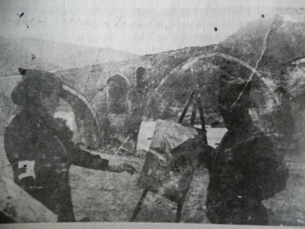 Nadežda Petrović skila Vezirov most, 1913.