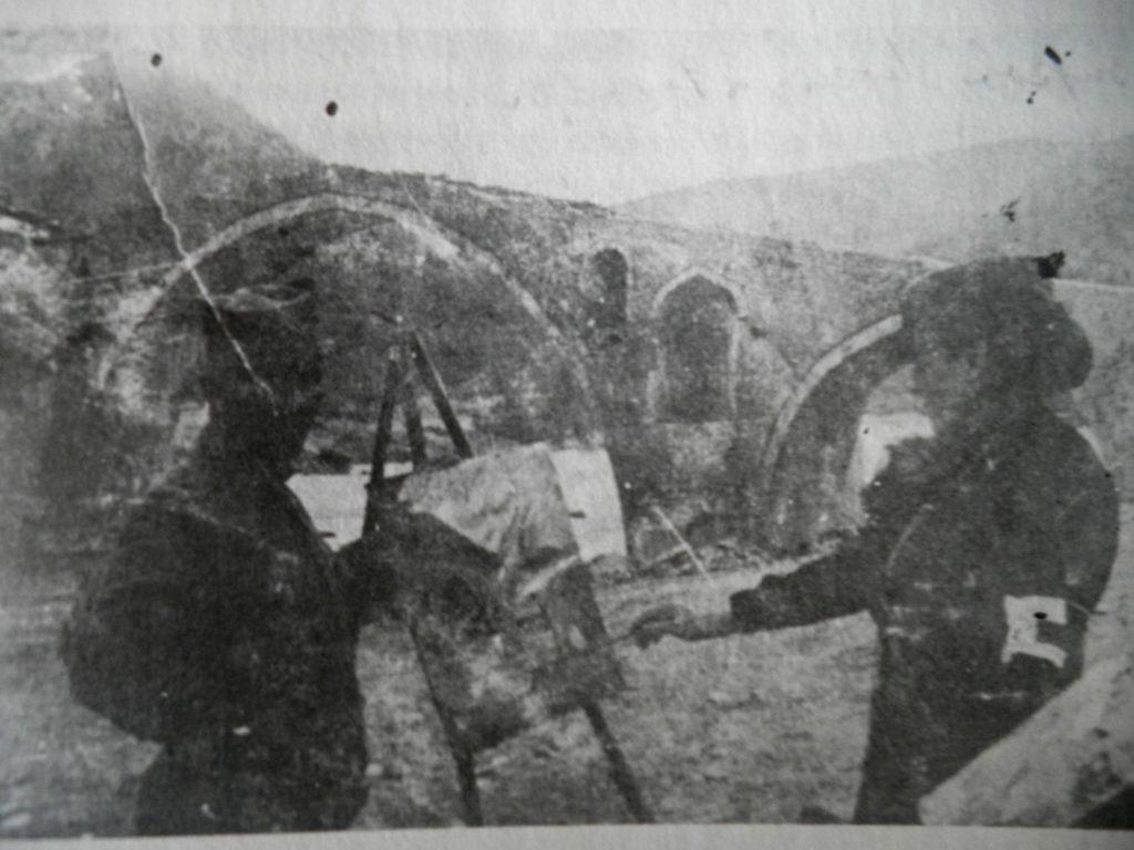 Nadežda Petrović, Vezirov most, 1913, Balkanski rat