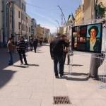 Ulična galerija dela Nadežde Petrović u Čačku