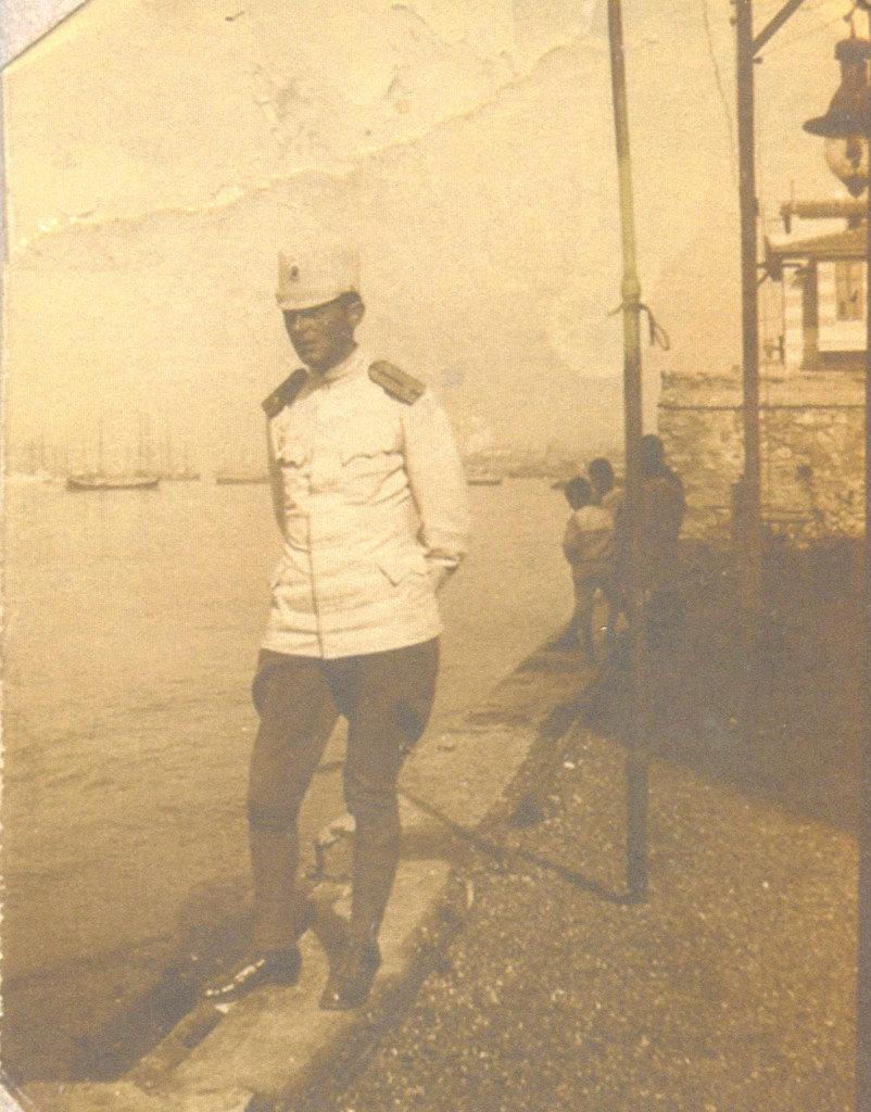 Živorad Nastasijević u Bizerti, 1917. MRTK, Gornji Milanovac