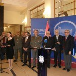 Svečano otvaranje spomenika Nadeždi Petrović u Domu Vojske Srbije