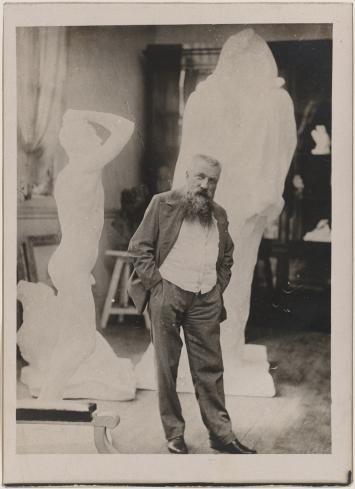 Roden u svom ateljeu, fotografija, Muzej Rodena, Pariz
