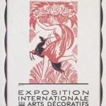 Plakat 1925, Pariz