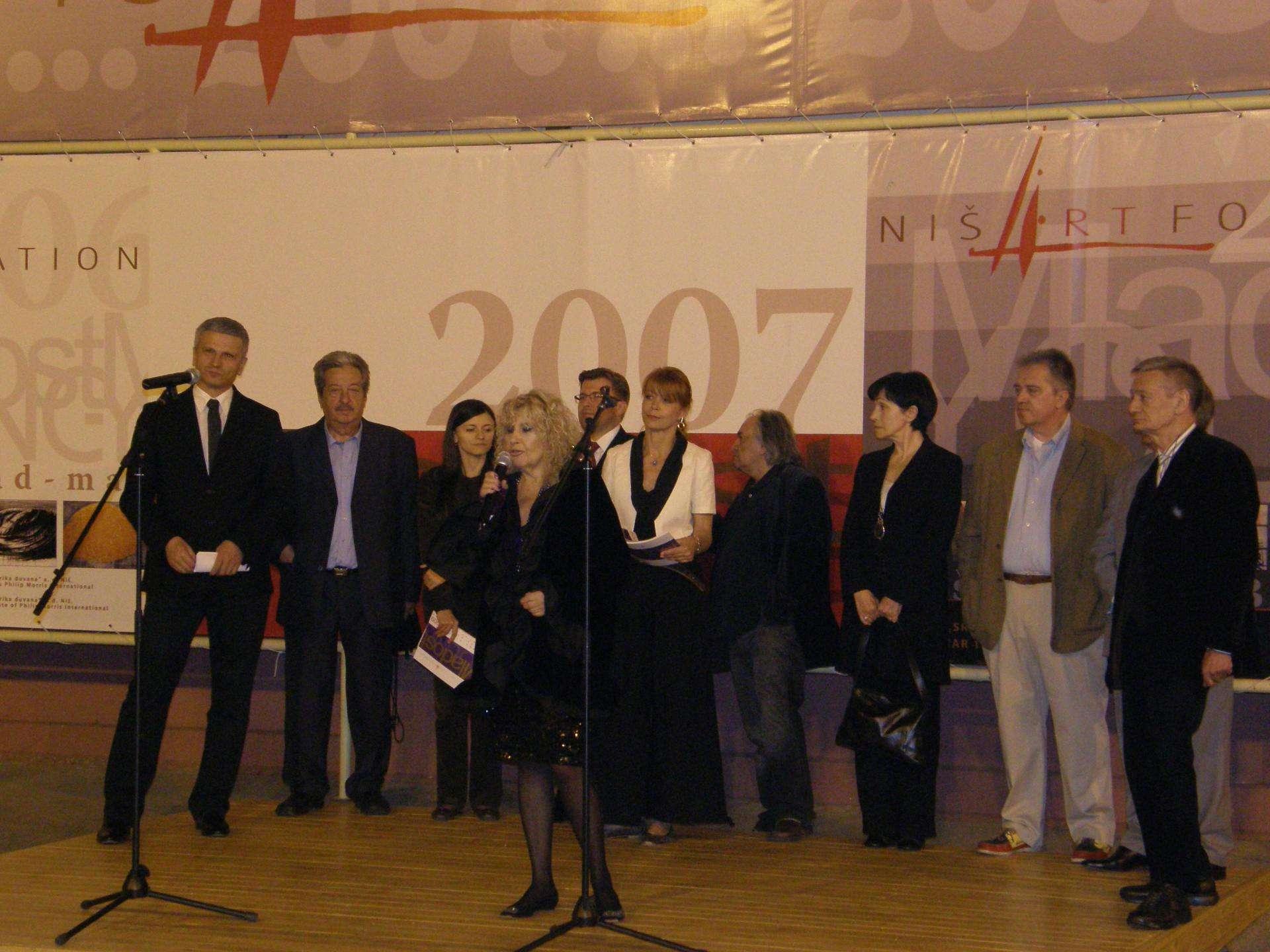 Niš Art Fondacija, 2009, svi na okupu