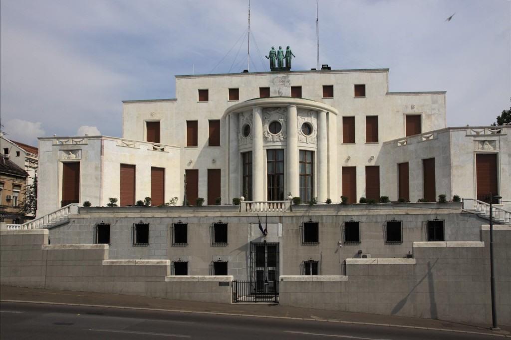Francuska ambasada Beograd