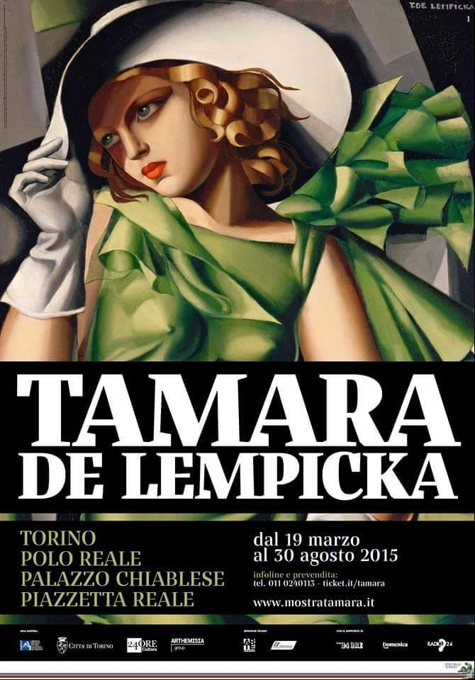 Tamara de Lempicka u Torinu 2015