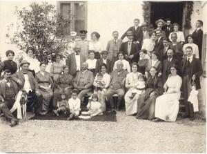 Veridba Anke Beljanski i Milana Isakovića 1912, foto SZPB