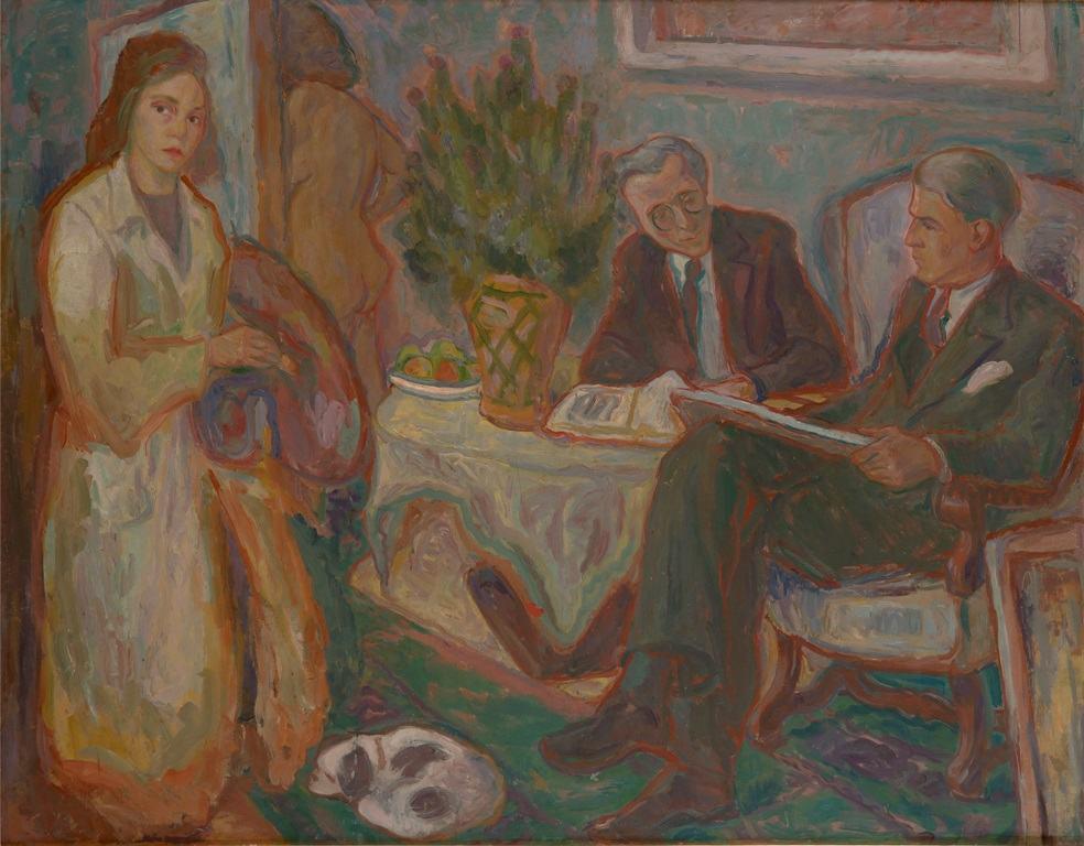 Zora Petrovic, U ateljeu 1941