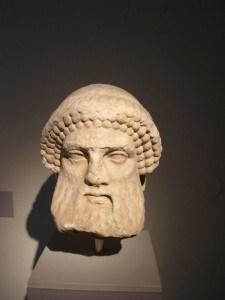 Hermes, 4. vek p. n. e, Arheološki muzej Limenas, Tasos