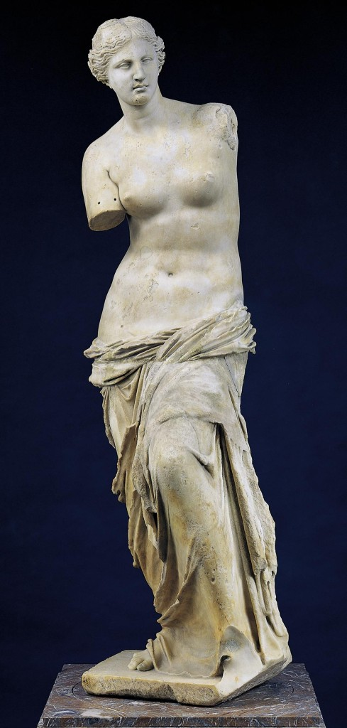 Miloska Venera, 100. go p. n. e, Luvr, Pariz