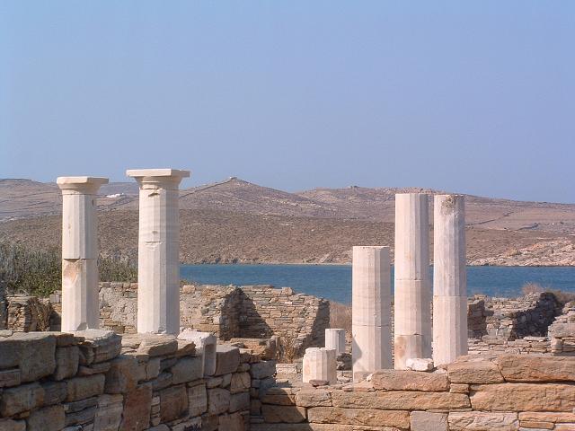 Delos, arheloški ostaci, Foto: mykonos.gr, Zvanični sajt
