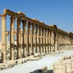 Palmira, Kolonada, foto: Bernard Gagnon, via Wikimedia Commons