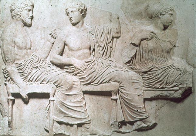 Partenon, deo friza, 5. vek pre nove ere, Atina