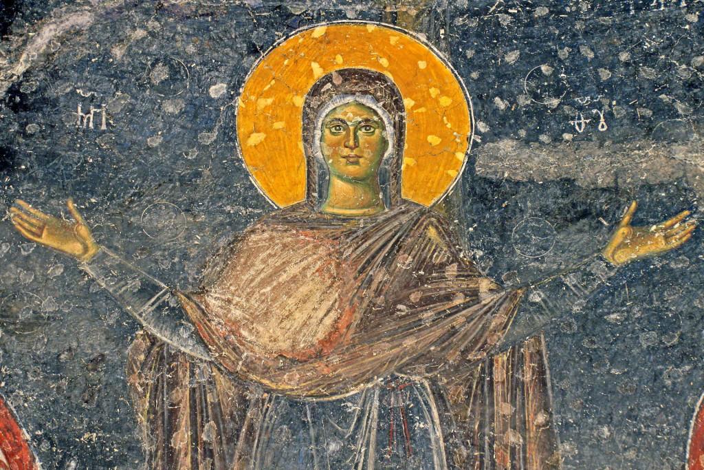 Bogorodica Orans, Pećka patrijaršija