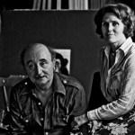 Vera i Mića u ateljeu, foto Arsenije Jovanović