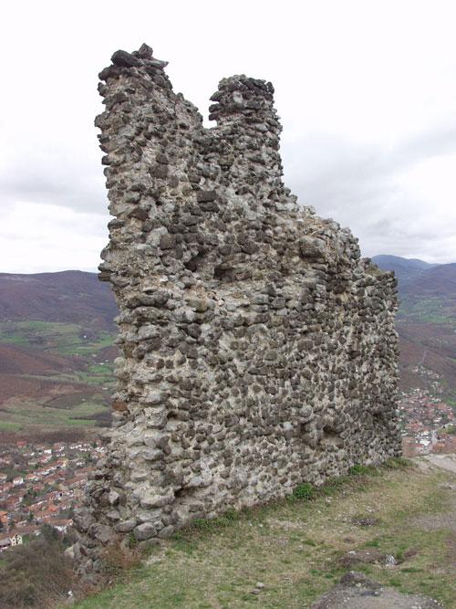 Ostaci Zvečana, foto Republički zavod za spomenike kulture