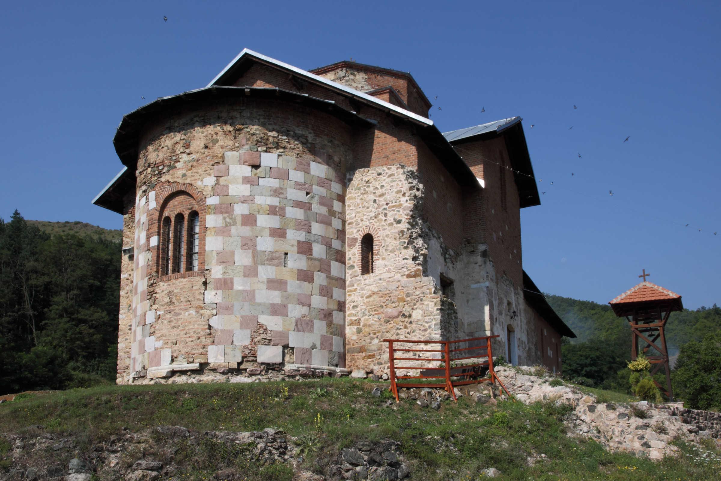 Manastir Banjska, oltarska apsida, foto:Artis Centar