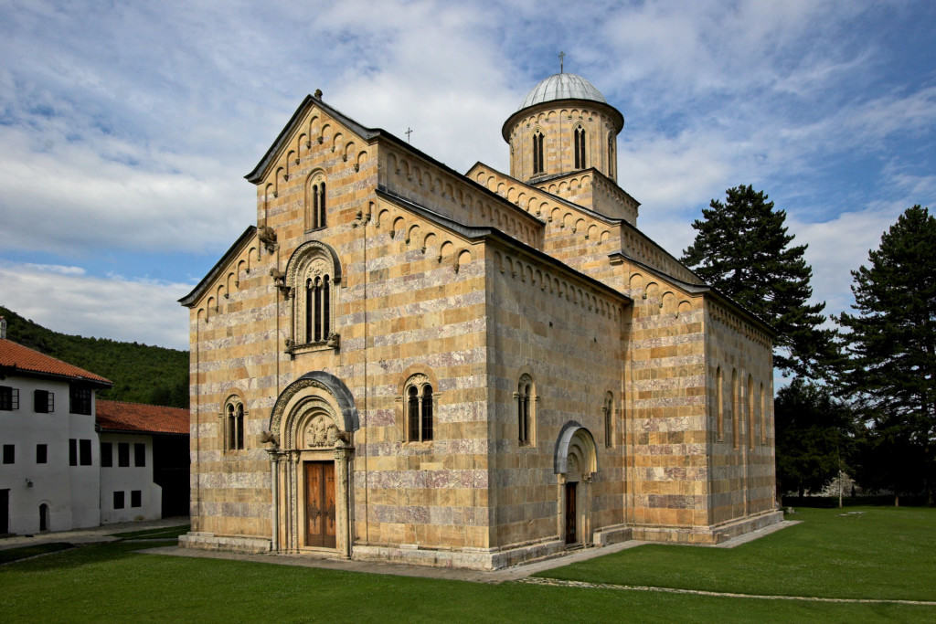 Dečani, crkva, foto Dragan Bosnić za Blago Srbije