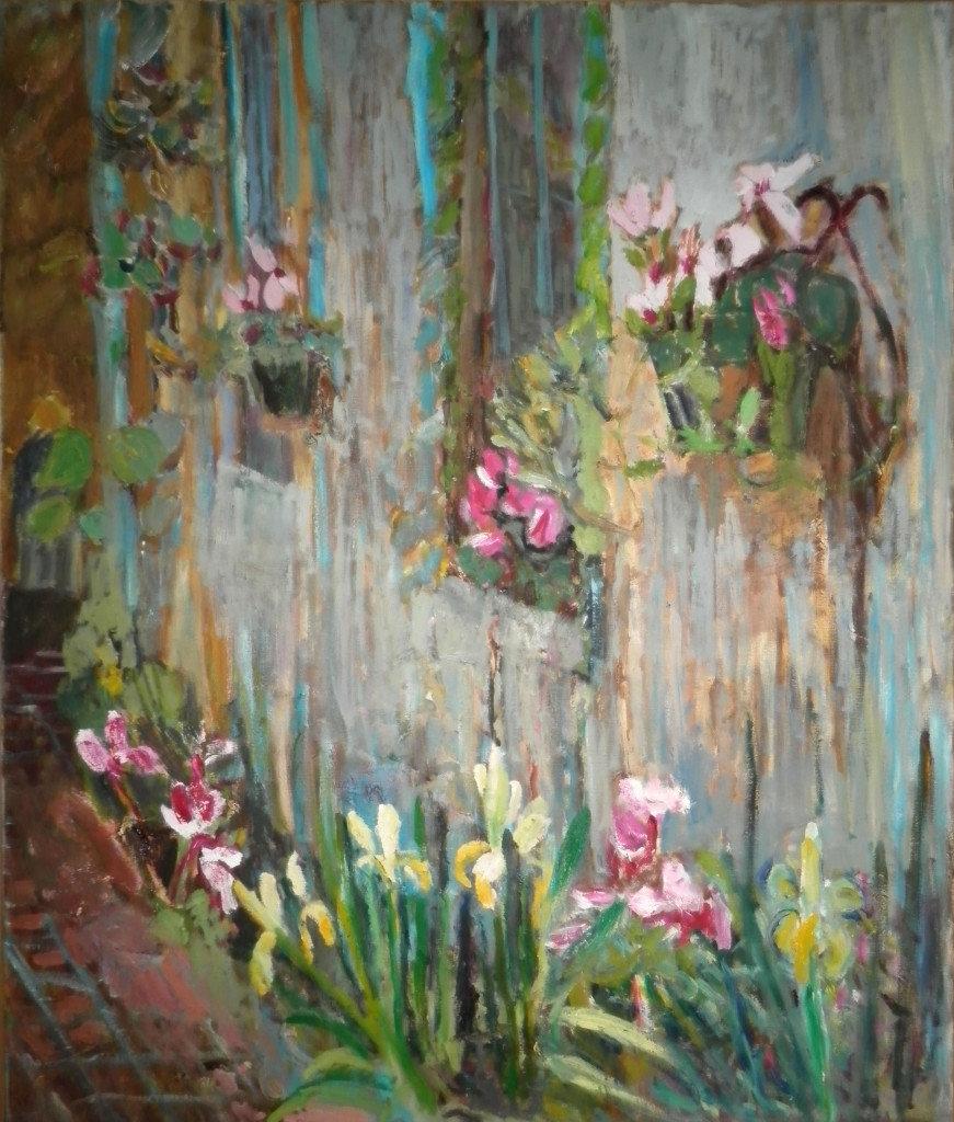 Dijana Kožović, Cveće na zidu
