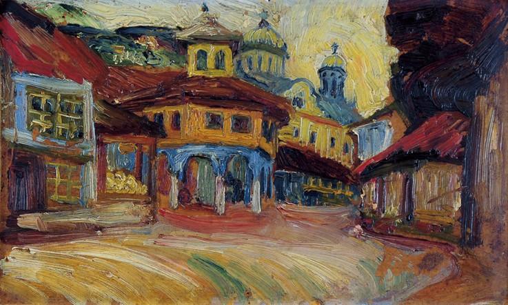Nadežda Petrović, Stari šedrvan u Prizrenu, 1913.